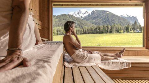 Saunaaufguss in der FinnSauna