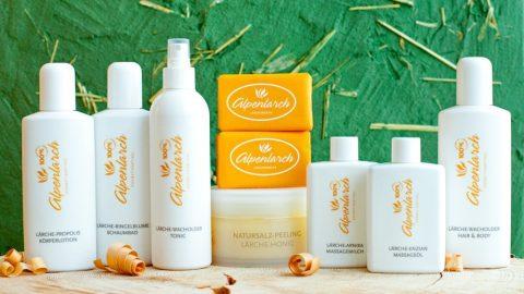 Alpenlarch-Produktfamilie