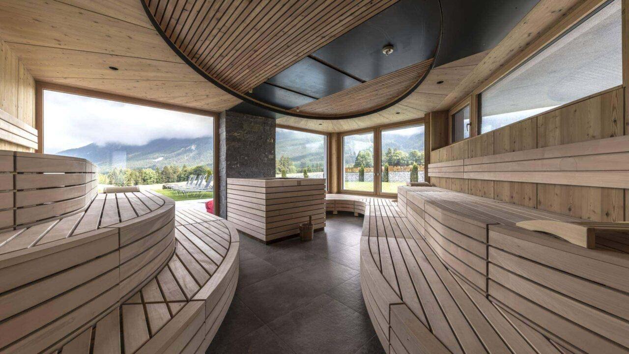 holzleiten panoramasauna finnsiche sauna innen